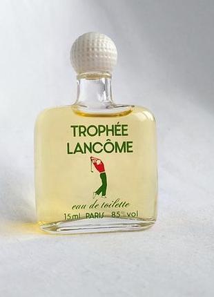 Винтажная миниатюра trophee от lancome 15 мл.