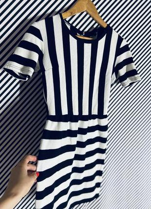 Крутое трикотажное платье от topshop