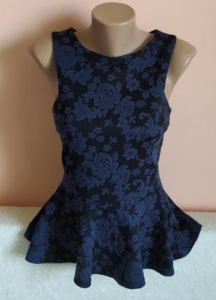 Як нова!класна модна блуза-кофта, вказано р.10.
