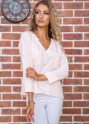 Блуза цвет персиковый