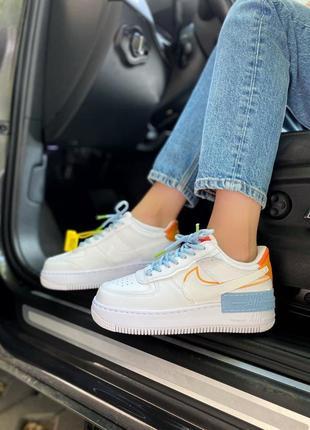 Стильные женские кроссовки nike air force найк✨,топ качество,живые фото,наложка