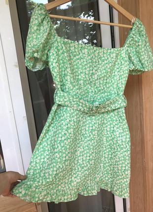 Сукня з рукавами ліхтариками / платье с рукавами фонариками