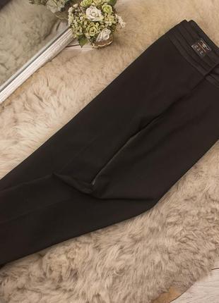 Качественные брюки прямого кроя от new look рр 12 наш 46