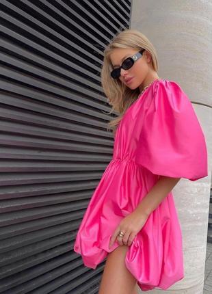 Воздушное нарядное платье 4 цвета