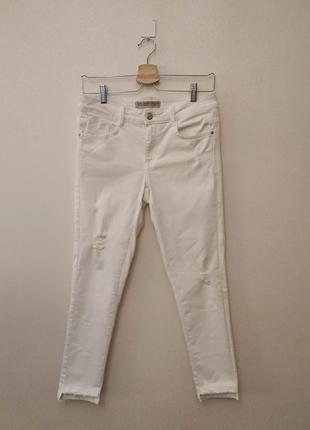 Джинсы, джинсы стрейч, джинсы белые, м