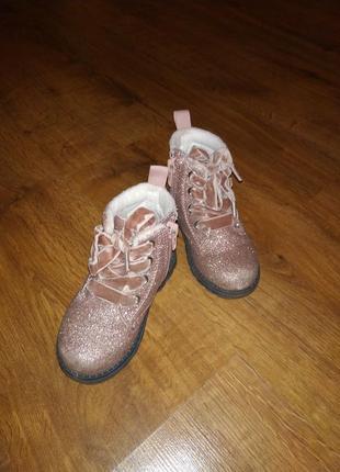 Ботинки фірми h&m 23 розмір