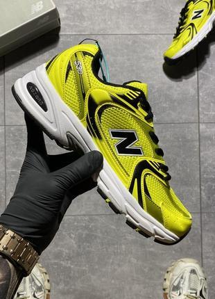 Мужские кроссовки new balance 530 lemon.
