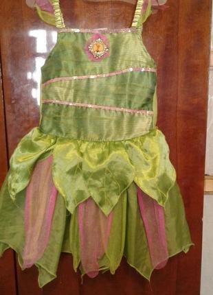Детский карнавальный костюм фея 5-6 лет