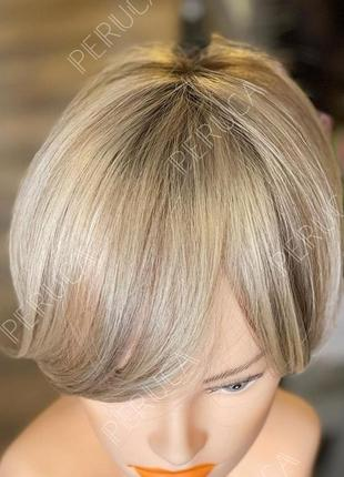 Универсальный матовый парик блонд перука наращивание волос осветление