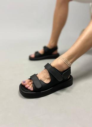 Кожаные сандали, размер 36-40