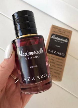 Парфюм azzaro mademoiselle, парфуми, тестер, парфюмерия, духи, косметика