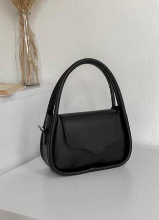 Интересный клатч черный клатч черная сумка актуальной формы