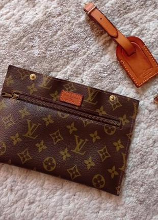 Кошелек-косметичка в сумку под бренд lv