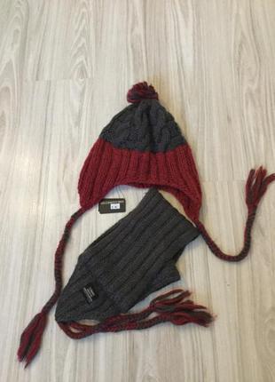 Акційна ціна! поспішайте!!!фірмовий комплект шапка+шарф
