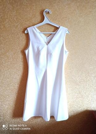 Шикарное белое платье 👌 тренд сезона 👌