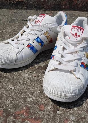 Кроссовки adidas superstar 39 кожа