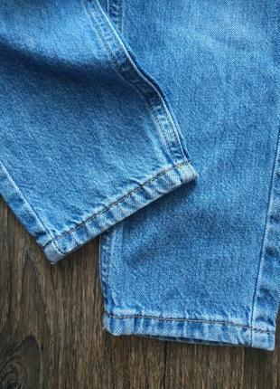 Джинсы с завышенной талией, джинсы мом4 фото