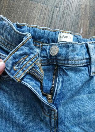Джинсы с завышенной талией, джинсы мом8 фото