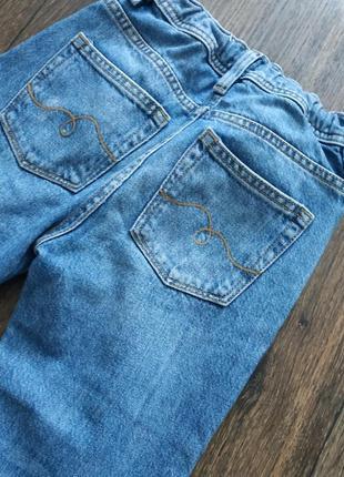 Джинсы с завышенной талией, джинсы мом10 фото
