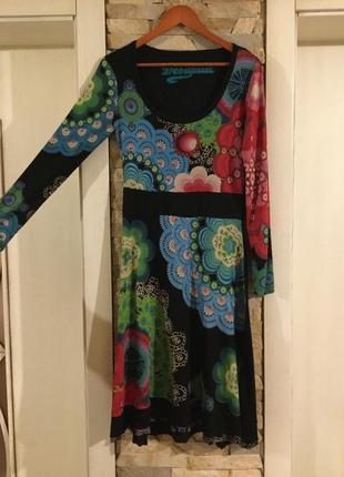 Распродажа — трикотажное платье от desigual .