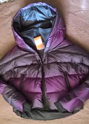 Пуховик/куртка волшебного цвета, модели oversize cocoon, nike, xs, s, m, l, xl в наличии