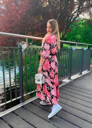 H&m платье из натуральной ткани h&m