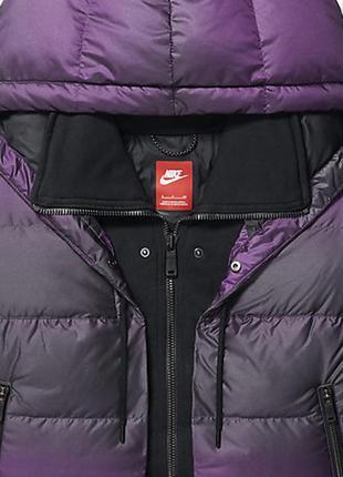Пуховик волшебного цвета, oversize cocoon, nike 550 jacket, xs, s, m, l, xl в наличии