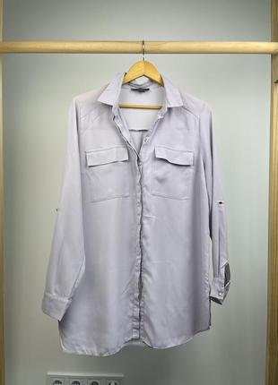 Нежная сиреневая блуза primark