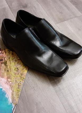 Туфли мужские черные большого размера