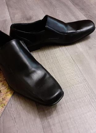 Туфли мужские черные большого размера2 фото