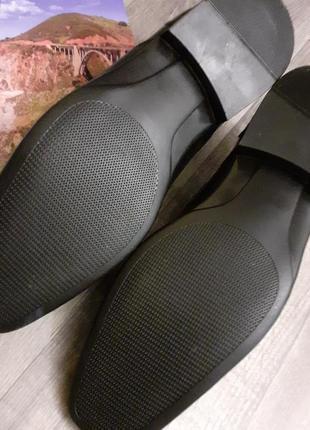 Туфли мужские черные большого размера4 фото