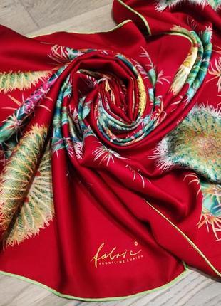 Fabric шелковый шарф