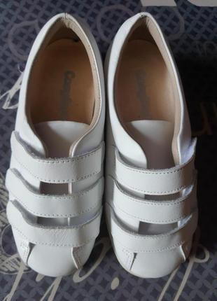 Новые белые кожаные туфли cosyfeet на низком ходу, ортопедические