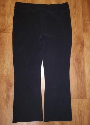 Черные женские стрейчевые брюки, штаны 18 р. jac woman wear