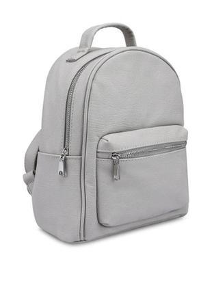 Новый серый рюкзак