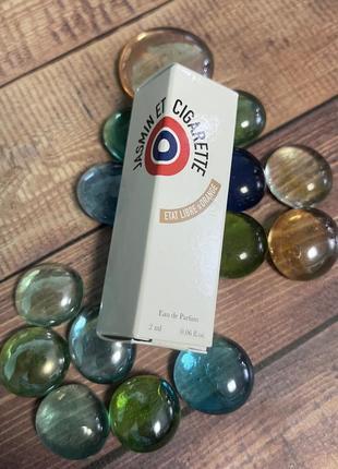 Парфюмированная вода jasmine et cigarette etat libre d'orange пробник оригинал