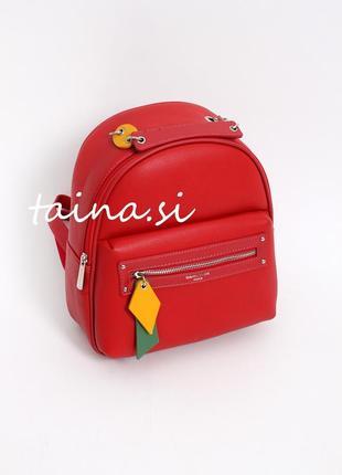 Городской рюкзак красный рюкзак david jones cm5624t оригинал червоний рюкзак