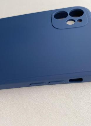 Чехол iphone 11 muted blue