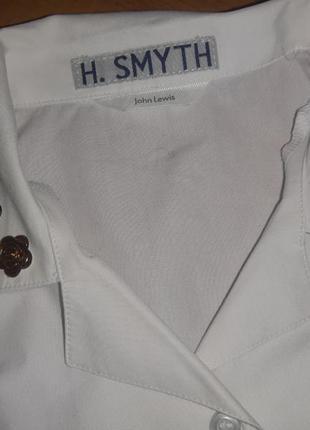 Рубашка сорочка детская белая в школу2 фото