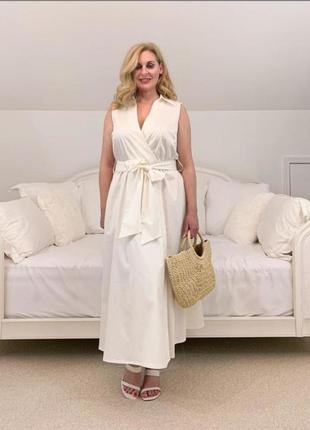 Платье с запахом h&m,p.l-xl-m