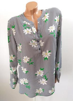 Полосата сорочка в квіти  ~ f&f ~