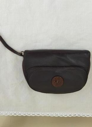 Кожаный кошелёк clarks
