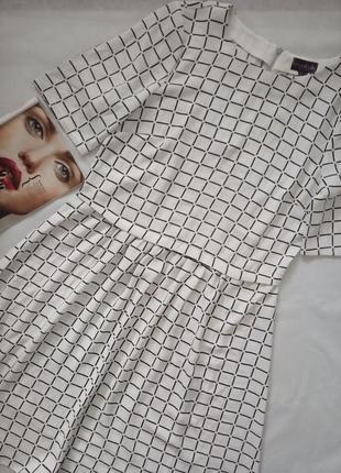 Идеальное платье, принт - клетка от британского бренда long tall sally