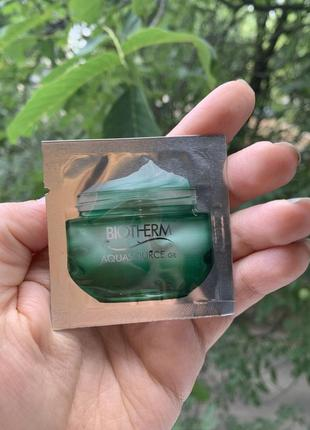 Biotherm aqua гель для лица пробник оригинал