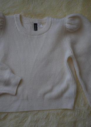 Укороченный свитер/топ