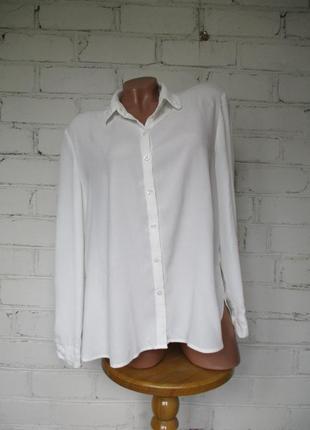 Рубашка/сорочка/блуза базовая вискоза/віскоза/l-xl