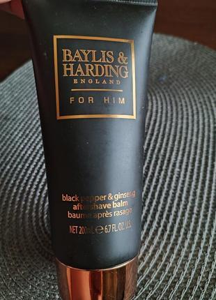 Baylis & harding black pepper & ginseng aftershave balm