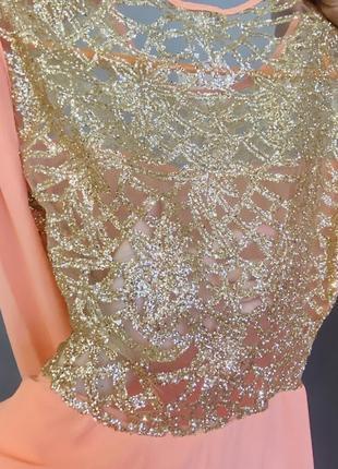 Новое вечернее длинное платье.5 фото