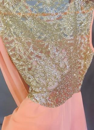 Новое вечернее длинное платье.6 фото