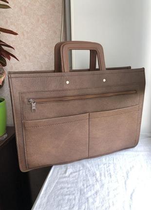 Кожаный портфель для ноутбука германия